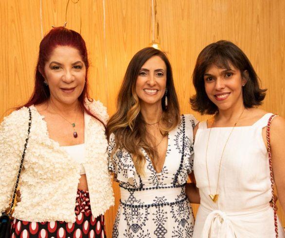 Jussara Amorim, Tatiana Melo e Livia de Figueiredo