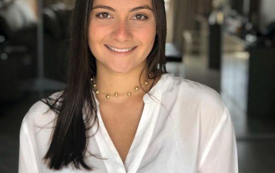 Marcela Cordier lançando em Salvador a coleção Amazônia da Cordier joias.