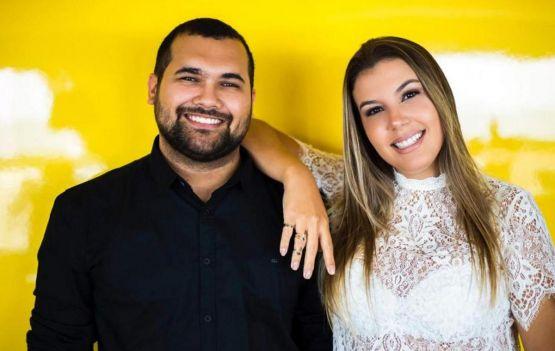Marcela Costa e Yan Fontes no  Fashion Brands