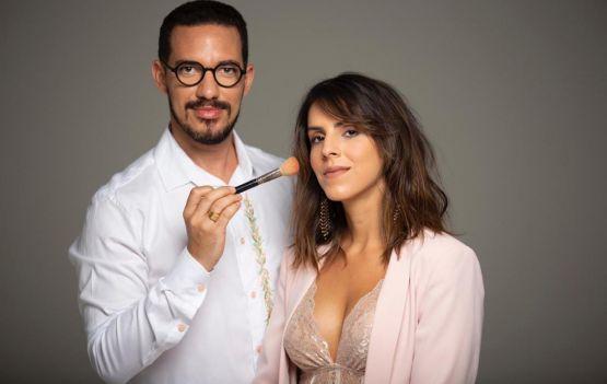 Jean Silva e Lívia Cady promovem juntos o projeto Make do Bem no Fasano
