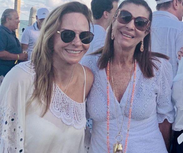 Na foto Ângela Freitas e Carol Pedreira