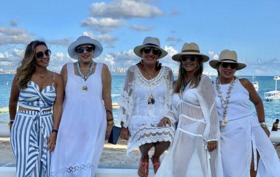 Alê Matos, Tania Motta, Tereza Stern, Vitorinha Dantas e Eliane Carvalho