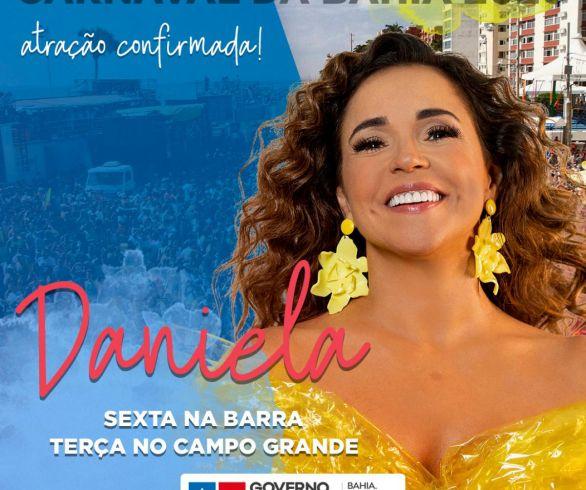 Daniela Mercury se apresenta hoje com um novo trio elétrico, oTriatro