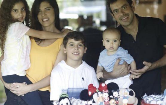 Aniversário de Bernardo Corrêa, herdeiro de Ana e Thiago.