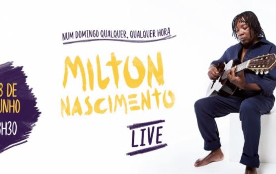 Hoje tem Milton Nascimento no Youtube. Confira aqui...