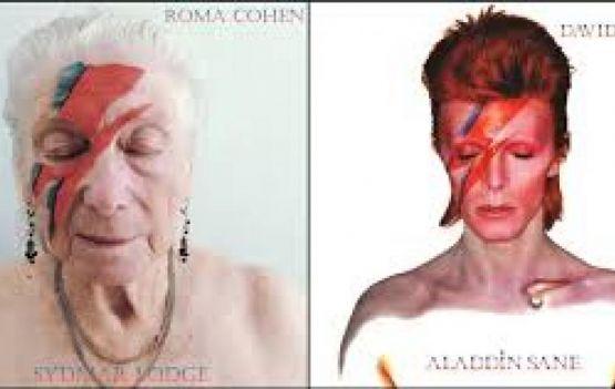 Abrigo de idosos em Londres recria capas de discos famosos durante a quarentena