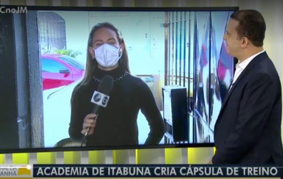Bacanérrima a matéria publicada hoje pela Tv Bahia sobre aacademia crossfit de Itabuna, no sul da Bahia.
