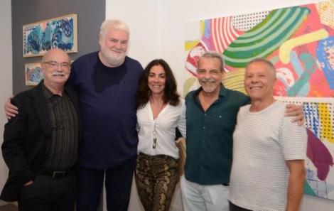 Adriano Mangiavacchi, John Nicholson, Ana Luiza Rego, Enéas Valle e Manfredo Souzanetto - Foto: Marco Rodrigues