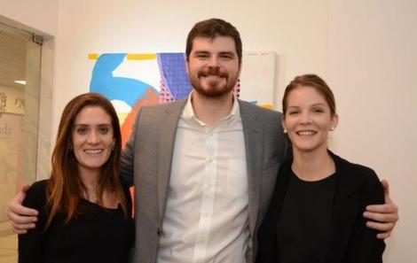 Diana Altílio, Filippe Costa e Silva e Taiana Oliveira - Foto: Marco Rodrigues