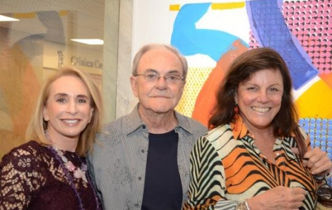 Eliane Bechimol, Geraldo Lamego e Viviane Soares Sampaio - Foto: Marco Rodrigues