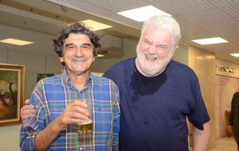 George Iso e John Nicholson - Foto: Marco Rodrigues