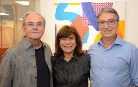Geraldo Lamego, Riva e Salomão Crosman - Foto: Marco Rodrigues