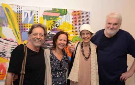 Gianguido Bonfanti, Marisa Maia, Margarete Basílio e John Nicholson - Foto: Marco Rodrigues