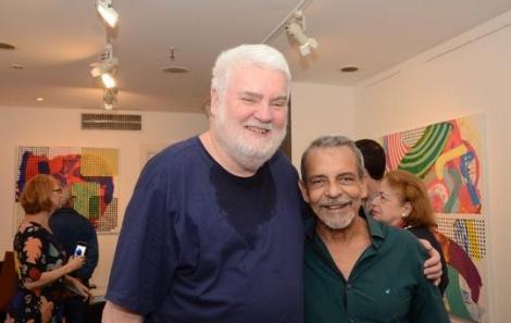 John Nicholson e Enéas Valle - Foto: Marco Rodrigues