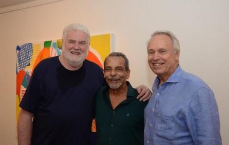 John Nicholson, Enéas Valle e Araken Hipólito da Costa - Foto: Marco Rodrigues