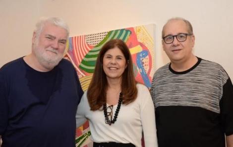 John Nicholson, Patrícia Costa e Ricardo Barradas - Foto: Marco Rodrigues