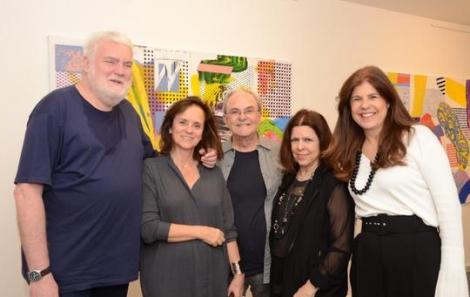 John Nicholson, Patricia Quentel, Geraldo Lamego, Vanda Klabin e Patrícia Costa - Foto: Marco Rodrigues