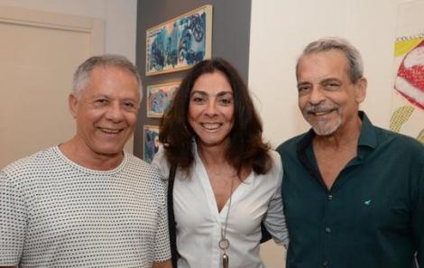Manfredo Souzanetto, Ana Luiza Rego e Enéas Valle - Foto: Marco Rodrigues