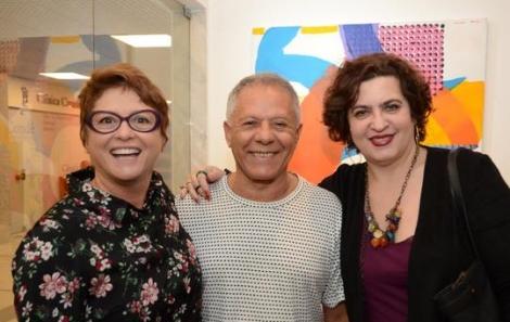 Ana Durães, Manfredo de Souzanetto e Clarisse Tarram - Foto: Marco Rodrigues