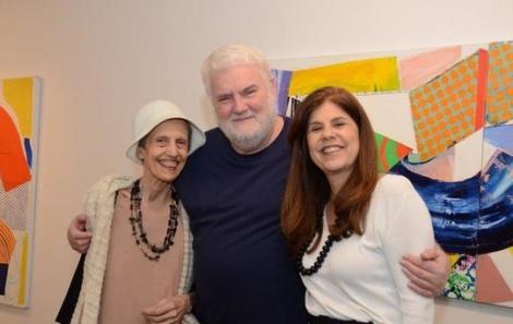 Margarida Basílio, John Nicholson e Patricia Costa - Foto: Marco Rodrigues
