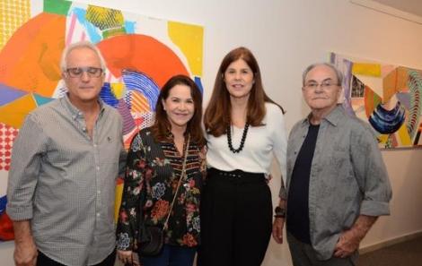 Pedro e Renata Cazzani, Patrícia Costa e Geraldo Lamego - Foto: Marco Rodrigues