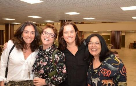 Ana Luiza Rego, Ana Durães e Márcia Prattes e Márcia Zoé - Foto: Marco Rodrigues