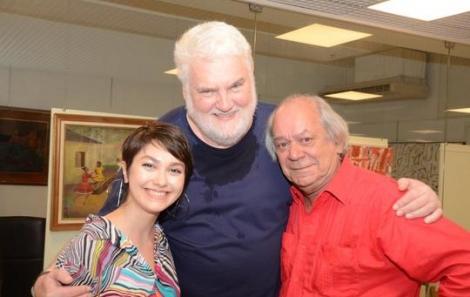 Camila Medina, John Nicholson e Luiz Eduardo Gama - Foto: Marco Rodrigues