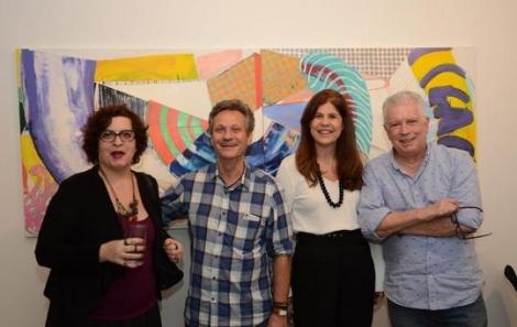 Clarisse Tarran, Paulo Reis, Patricia Costa e Chicô Gouvêa - Foto: Marco Rodrigues