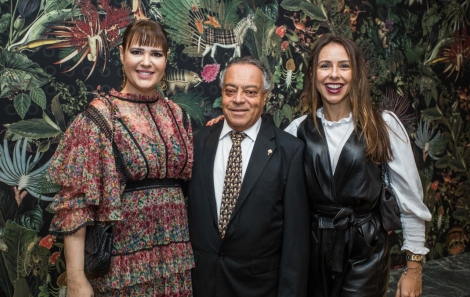 Adriana Barreto, Jose Olegario e Ana Helena Alonso - fotoTati Freitas