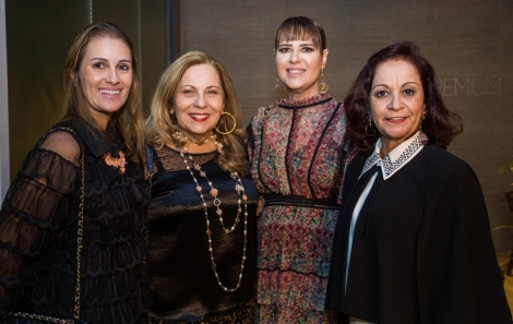 Aline Ribeiro, Rita Magalhães,  Adriana Barreto e Moema Ribeiro - foto Tati Freitas