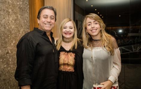 Benicio, Marcia e Renata Mascarenhas - foto Tati Freitas