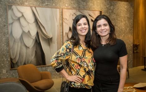 Cristiane Silveira e Marta Suzano - foto Tati Freitas