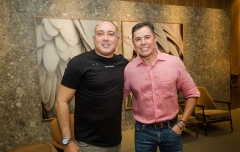 Freddy Pitta e José Rotodano - foto Tati Freitas