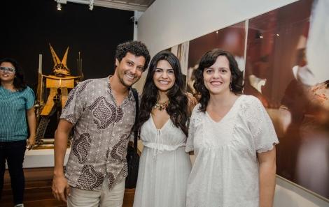 Alessandro, Thaís e Mariana Vaz - tati freitas