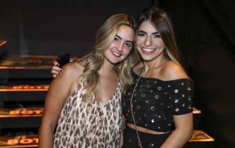 Julia Mendes e Nesrin Yassine