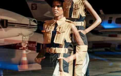 Simplesmente bacanérrimo o desfile de Winter 20 no Aeroporto da Pampulha em BH.