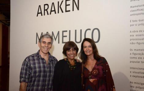 Alexandre Dacosta, Lucília de Assis e Márcia Cleyton