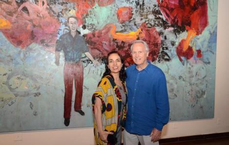 Cristina Cabral e Araken Hipólito da Costa