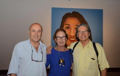 Eduardo e Tereza Weaver  e Fernando Bicudo