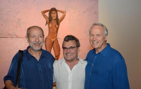 Fernando Cocchiarale, Antônio Mendel e Araken Hipólito da Costa