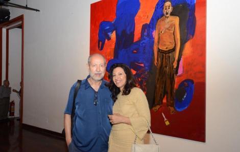 Fernando Cocchiarale e Adriana Hipólito da Costa