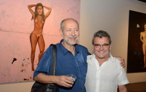Fernando Cocchiarale e Antônio Mendel