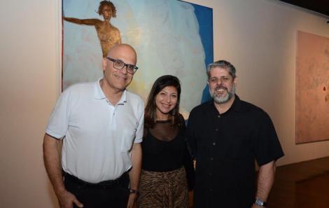 Frederico Dalton, Bia Sampaio e José Antonio MacDowell