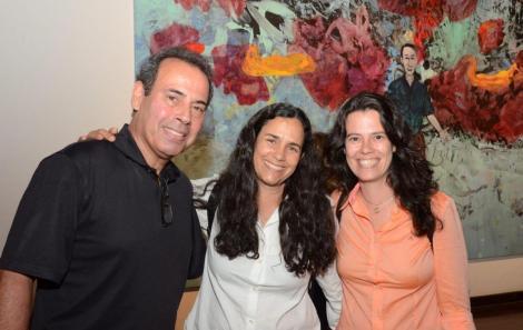 Marcelo Dau, Tatiana Rodrigues e Fabi Cunha