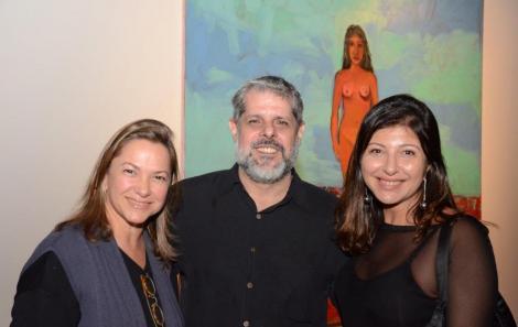 Raquel Saliba, José Antonio MacDowell e Bia Sampaio