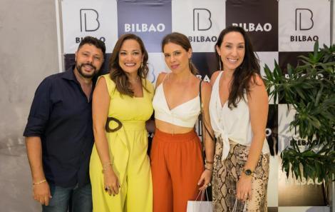 Cleber e Carolina Fiori com Camila Marinho e Talita Sylos