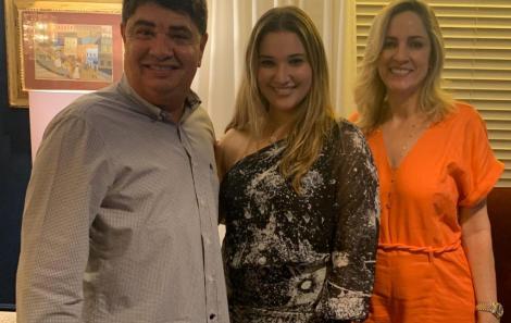 Diógenes Alencar, Daniela Alencar e Cristina Alencar