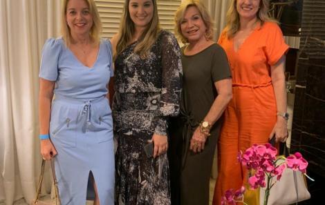 Flavia Avena, Daniela Alencar, Tieta Sá e Cristina Alencar