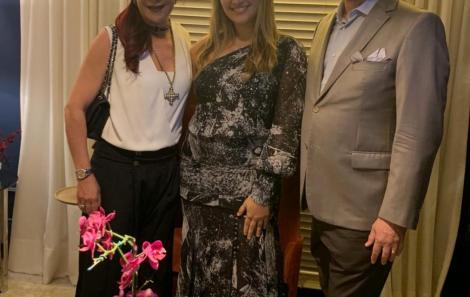 Jussara Amorim, Daniela Alencar e Carlos Amorim