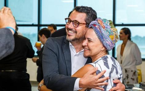Fausto Franco e Tereza Paim = Foto-Will Recarey